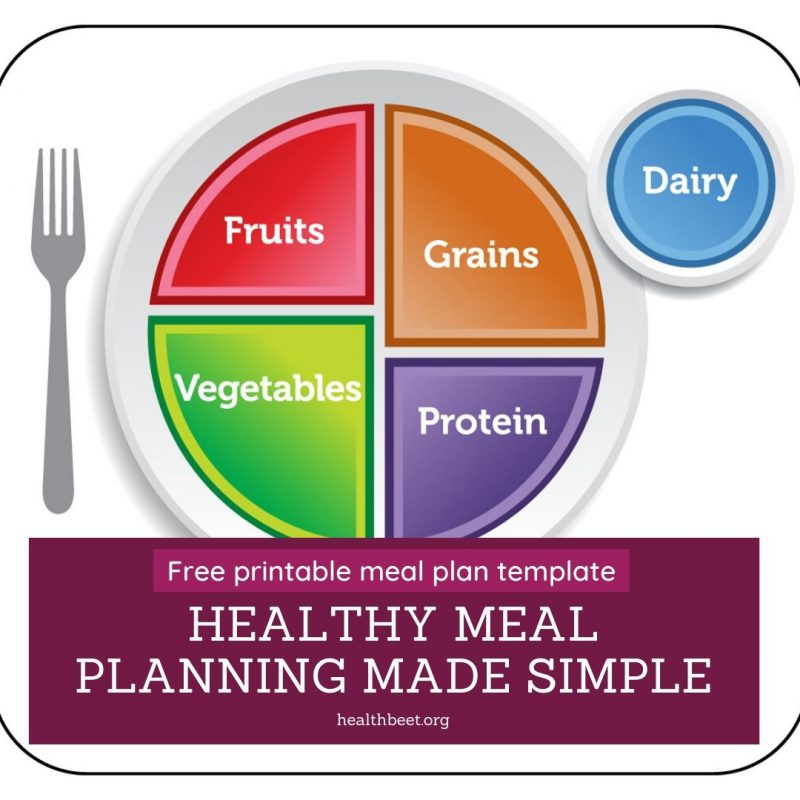 Meal planning made simple with myplate