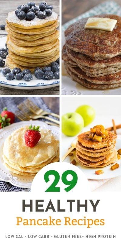 29 healthy pancake recipe roundup