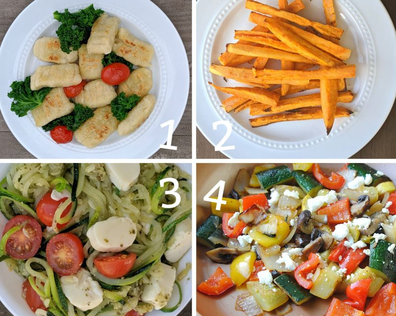 4 great vegetable recipes