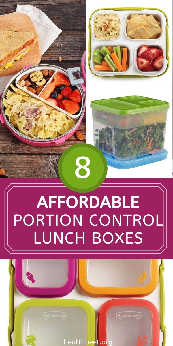 8 affordable portion control lunch boxes