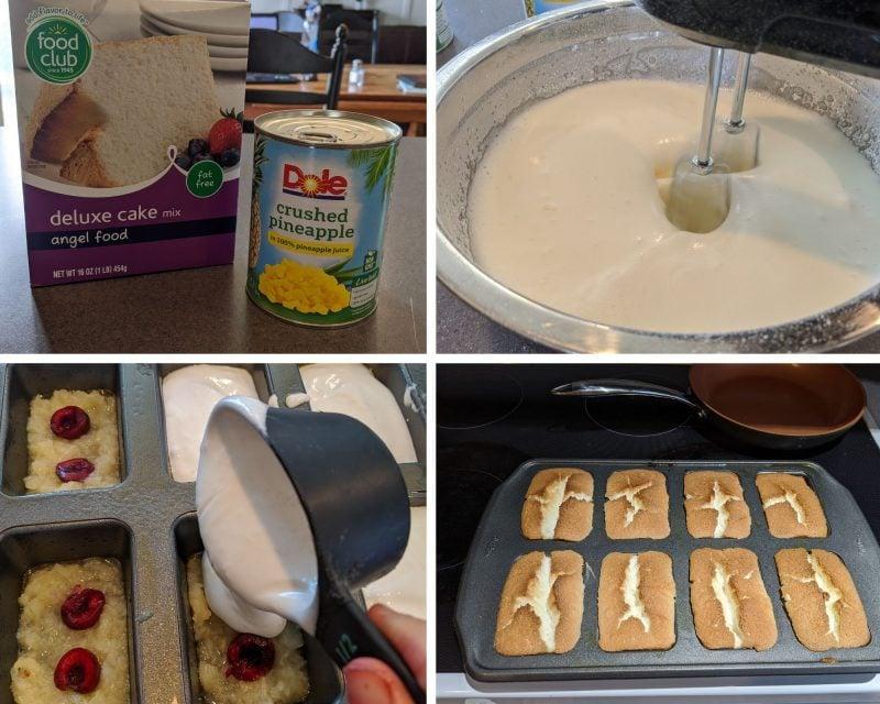 Making low calorie angel food cake