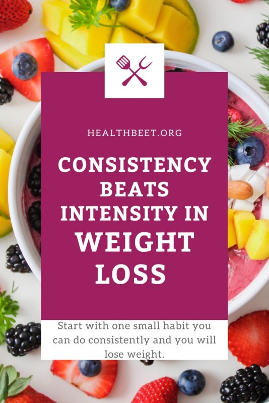 Food and weight loss advice