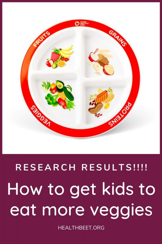 research results- how to get kids to eat more veggies