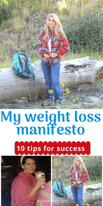 weight loss manifesto ten tips for success