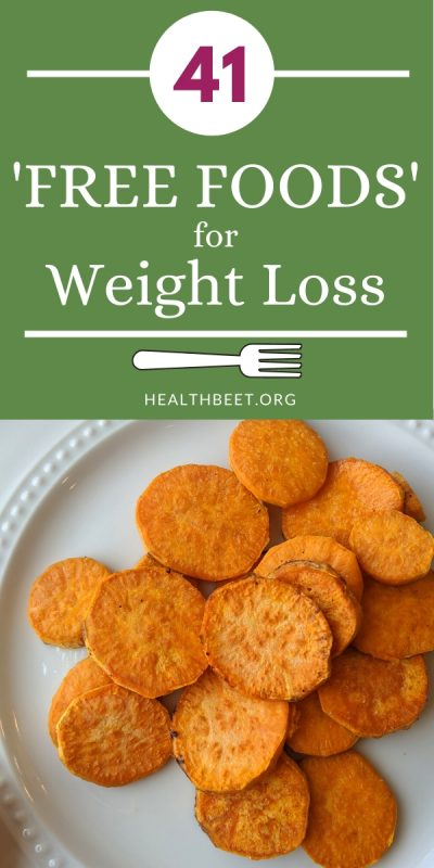 41 free foods for weight loss