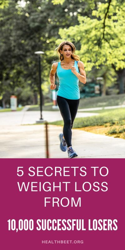 5 secrets to weight loss from 10000 successful losers