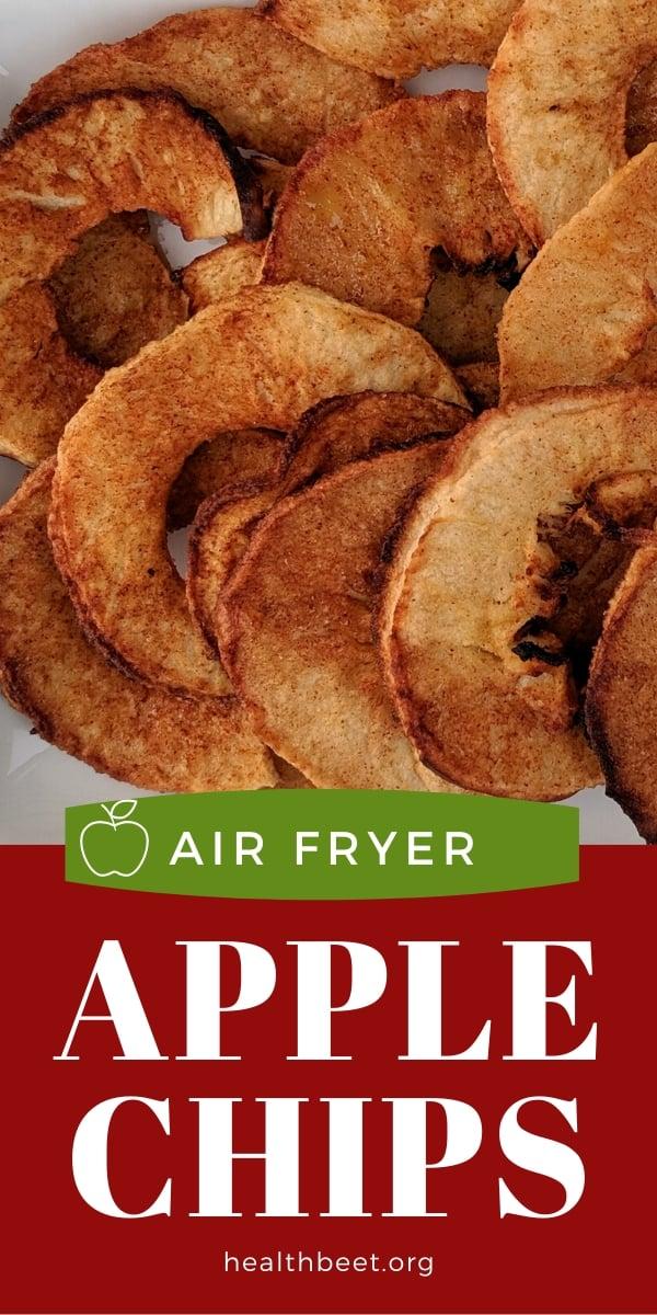 Air Fryer apple chips
