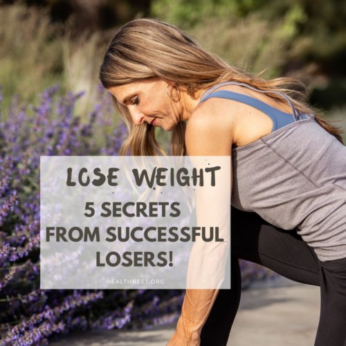 lose weight five secrets from successful losers