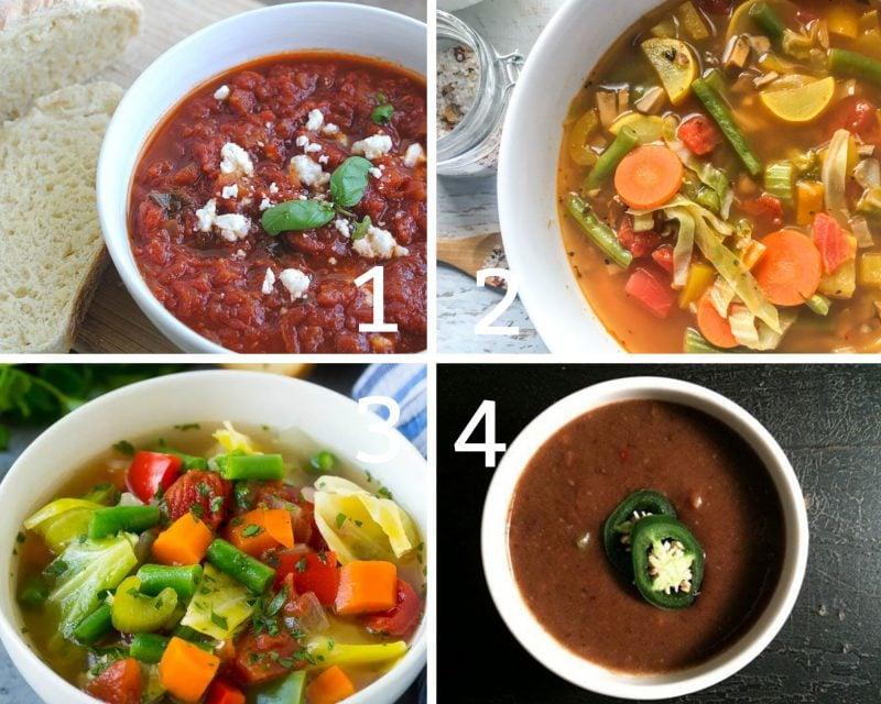low calorie soups 1-4