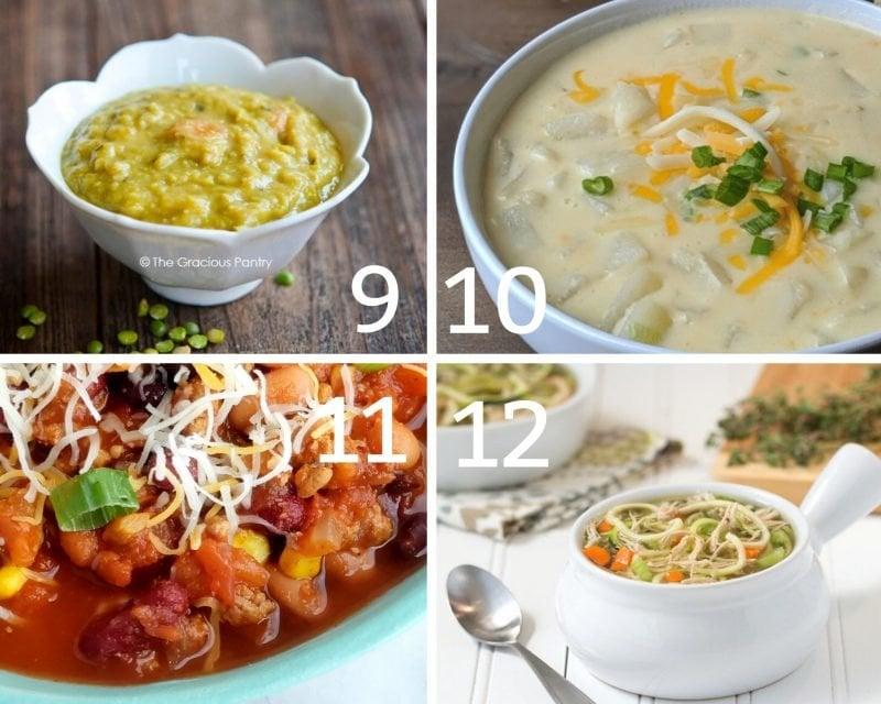 low calorie soups 9-12