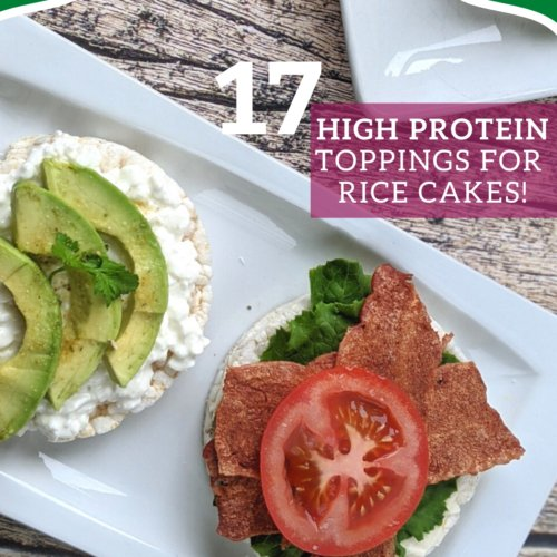 protein toppings for rice cakes square