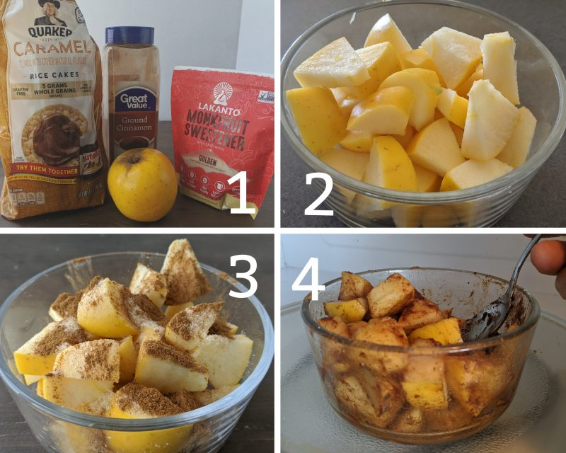 steps to making healthy apple crisp