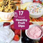 17 Quick & Healthy Fruit Dip Recipes