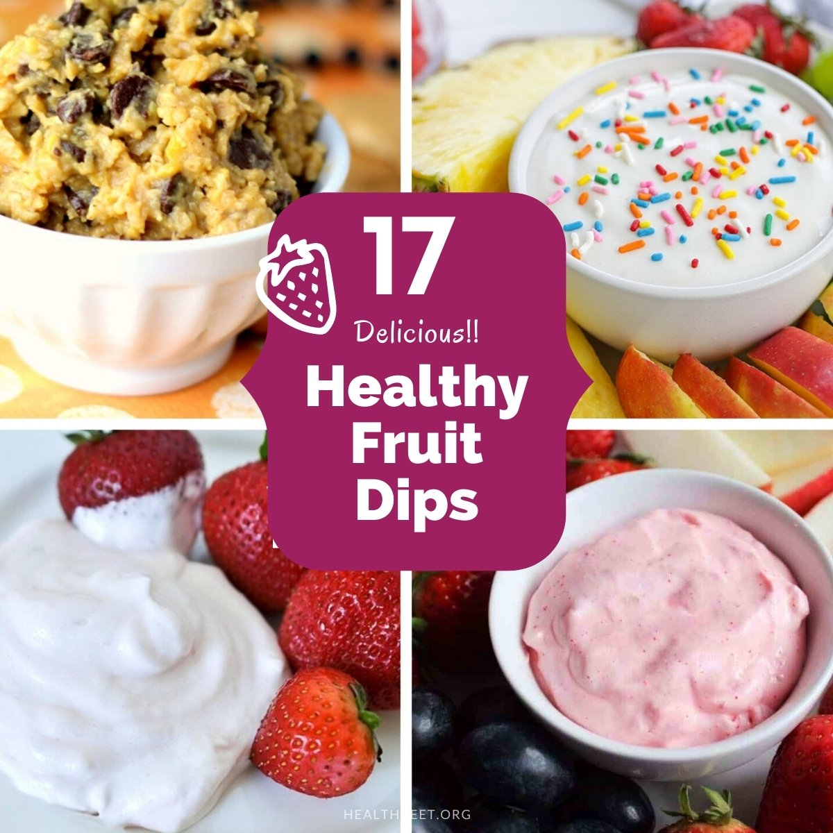 17 Delicious Healthy Fruit Dips