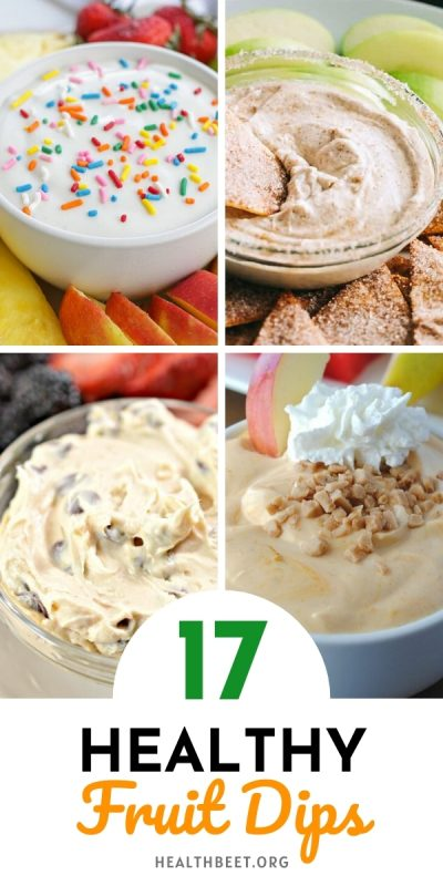 17 Healthy fruit dips ideas