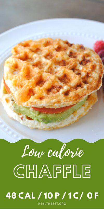 Low calorie chaffle recipe