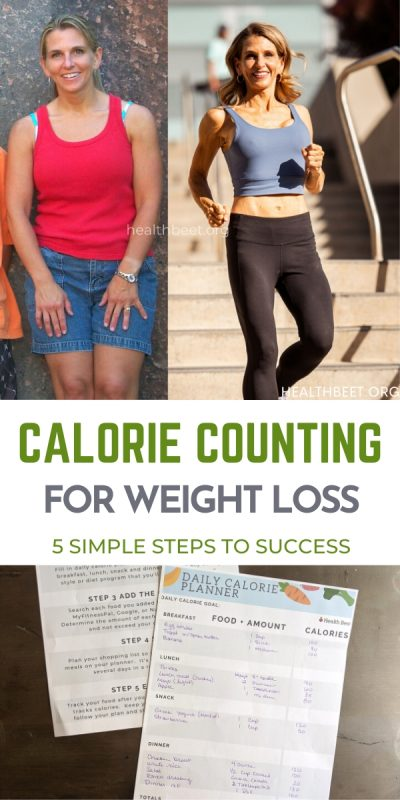 Calorie counting for weight loss 5 simple steps