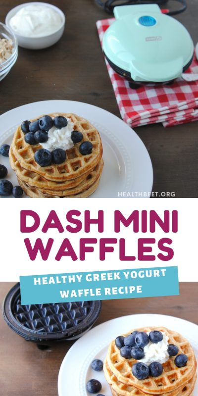 dash mini waffle iron