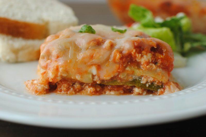 Low cal lasagna