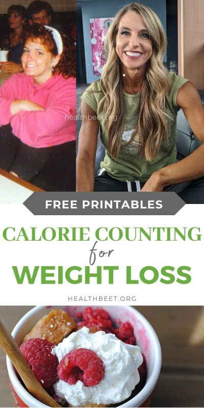 calorie counting for weight loss with free printable worksheets
