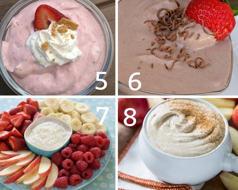 healthy fruit dips 5-8