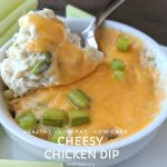 Healthy Cheesy Chicken Dip Recipe
