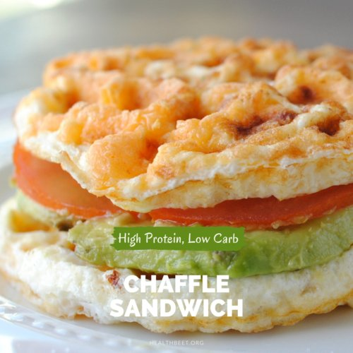 gluten free bread substitute high protein low carb chaffle