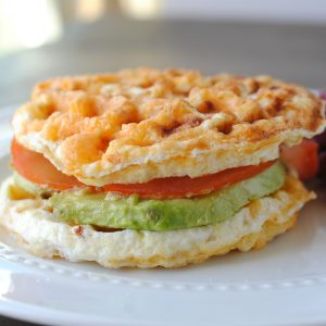 low fat high protein chaffle