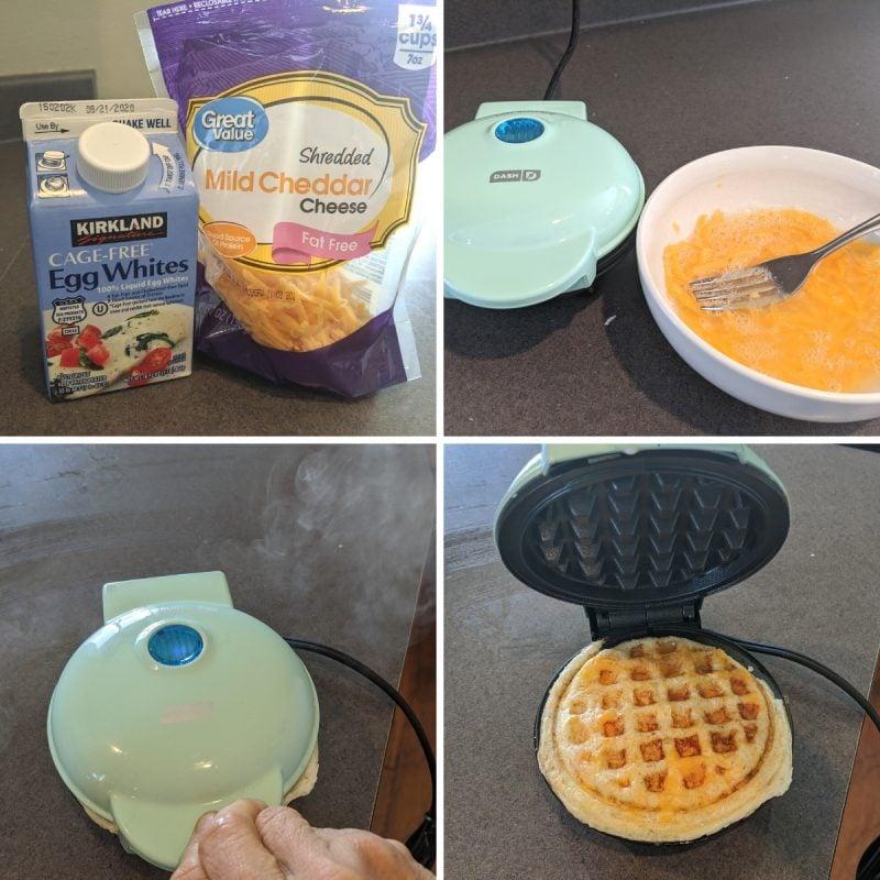 making a low fat chaffe