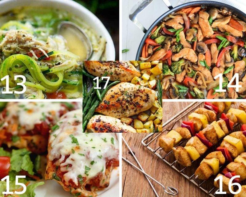 13-17 of the chicken dinner ideas