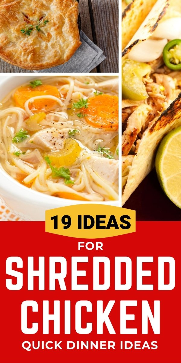 19 ideas for shredded chicken