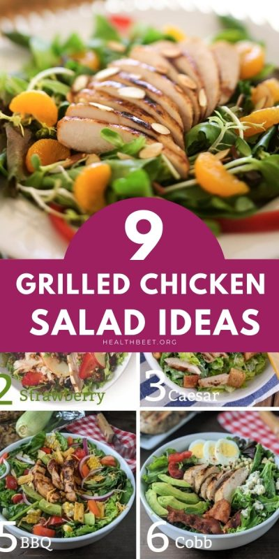 9 grilled chicken salad ideas