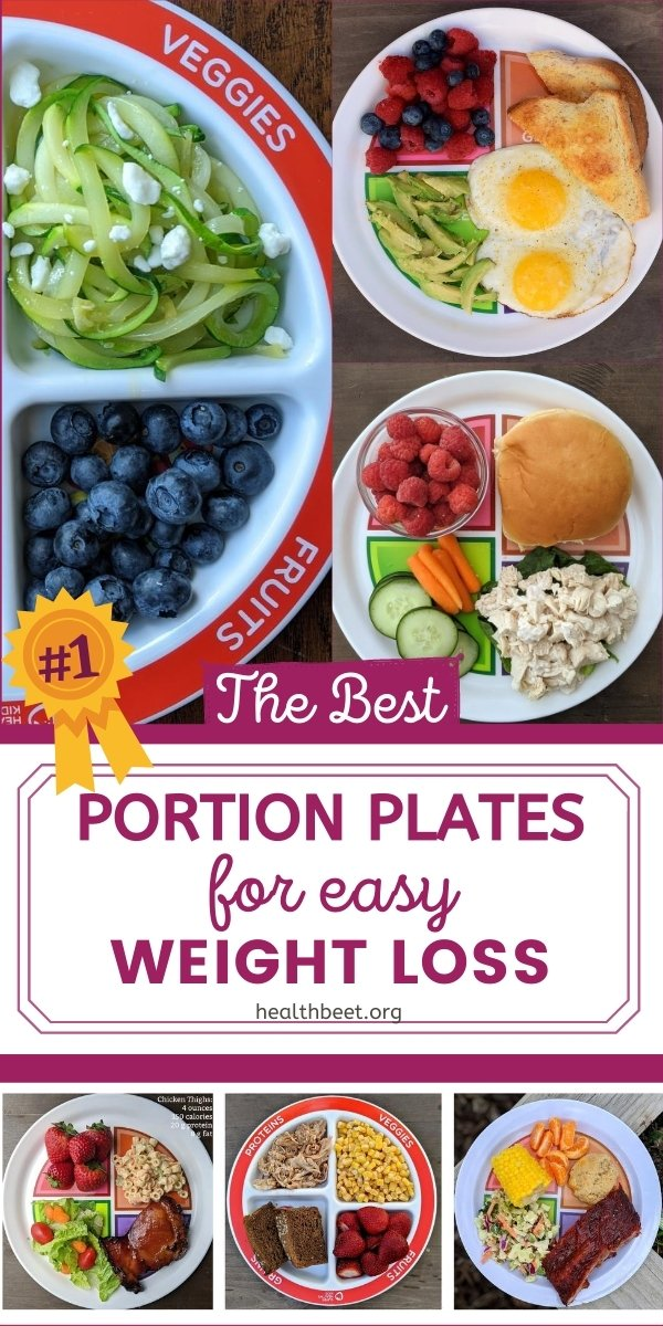 The best portion plates for easy weight loss