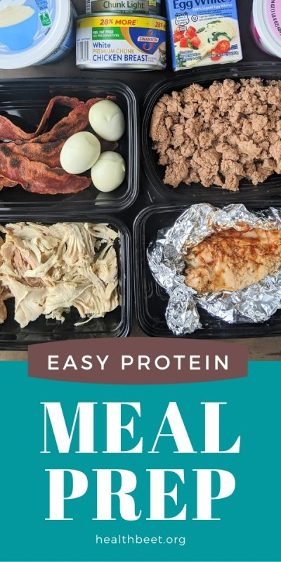 easy high protein meal prep