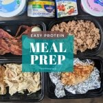 High Protein Meal Prep for Weight Loss