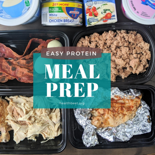 easy protein meal prep for weight loss