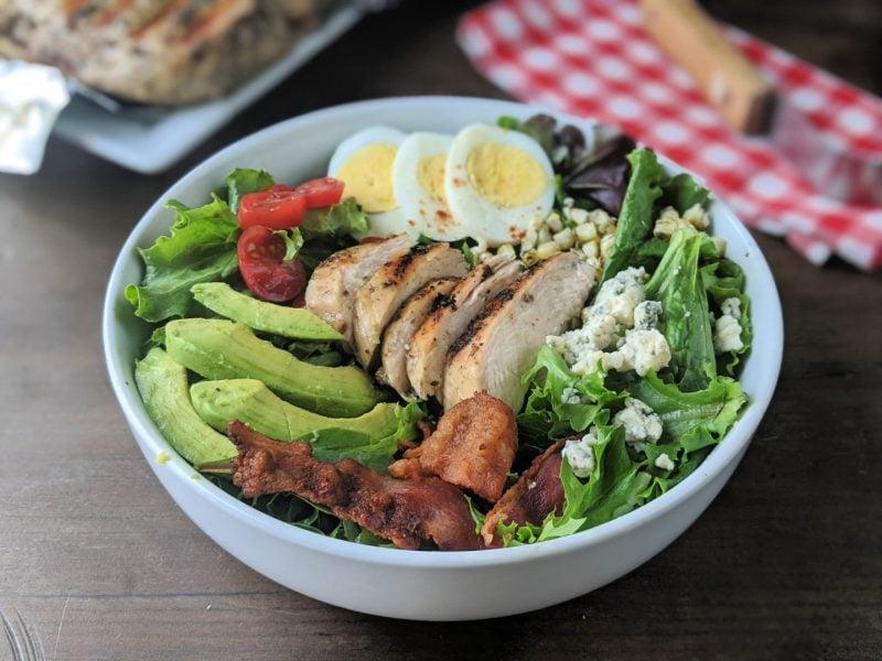 grilled chicken cobb salad side
