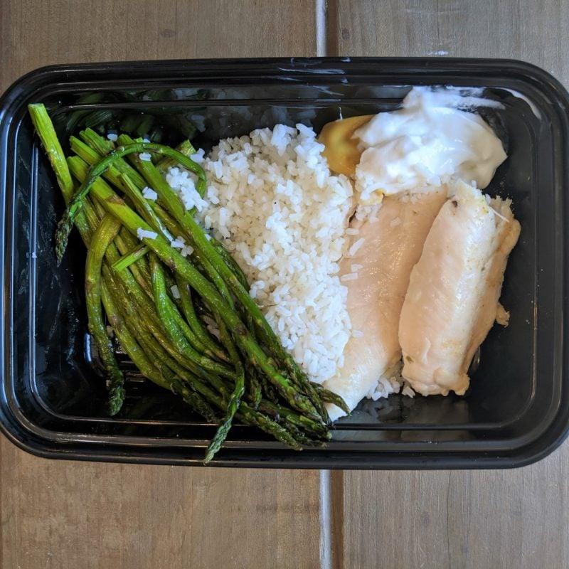 healthy dinner for travel
