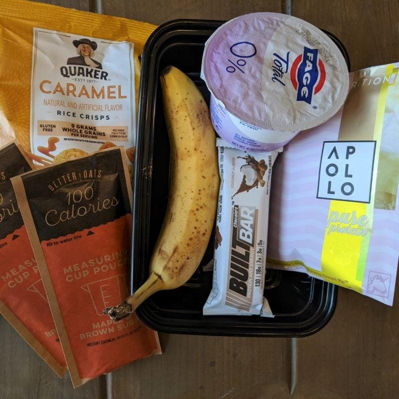 healthy food travel snacks