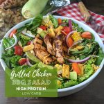 Fast and Easy Grilled Chicken BBQ Salad