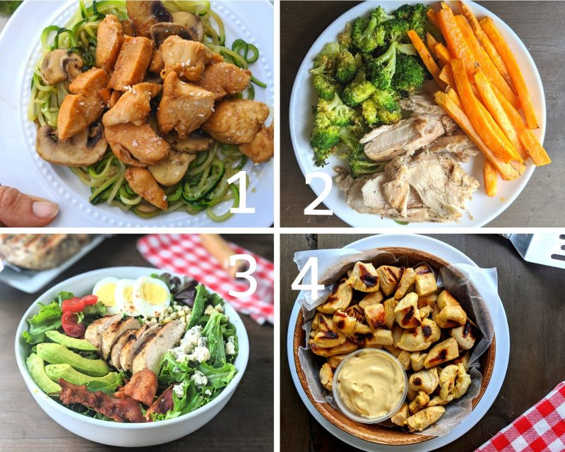 high protein meal prep the dinners