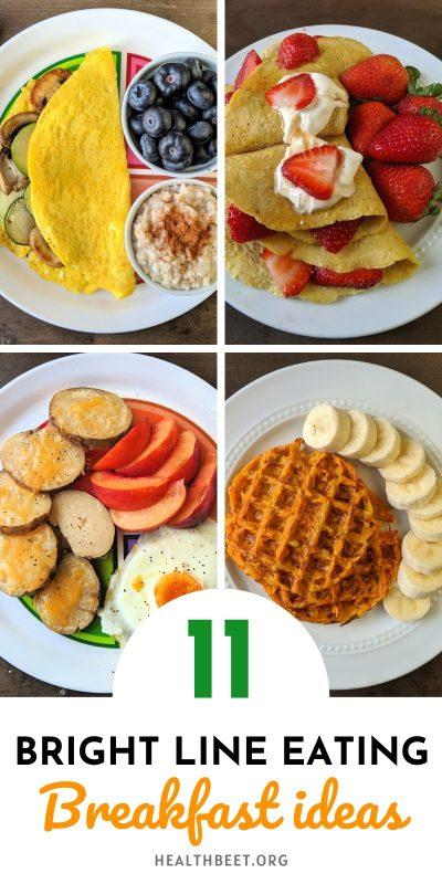 11 bright line eating breakfast ideas BLE diet