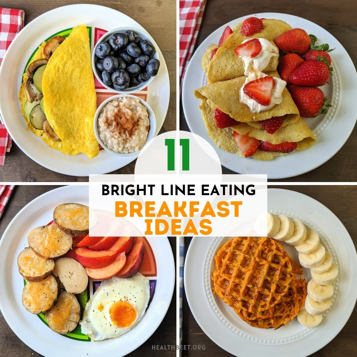 10 Bright Line Eating Breakfast Recipes and Meal ideas - Health Beet