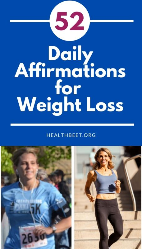 52 daily affirmations for weight loss