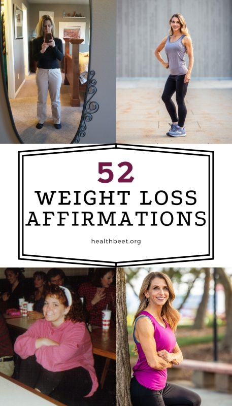 52 weight loss affirmations that can help you lose weight today