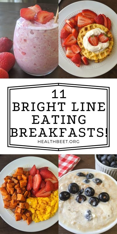 Bright line eating recipes for breakfast