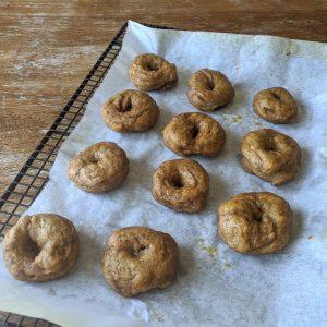 baking low calorie bagels