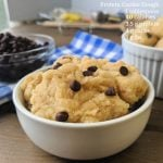 best protein cookie dough with nutrition info (