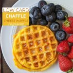 Classic 2 Ingredient Low Carb Chaffle Recipe