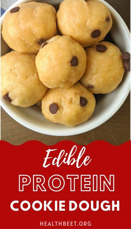 edible protein cookie dough bites